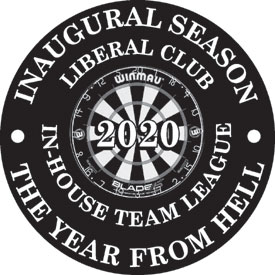 Liberal Club In-House Team Dart League